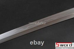 1095 Carbon Steel Folded 15 Times Clay Tempered Bare Blade For Jp Samurai Katana