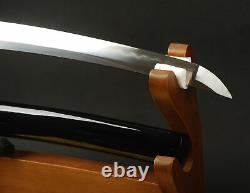 20'' Clay Tempered T10 Folded Steel Tanto Self-defence Japanese Samurai Sword