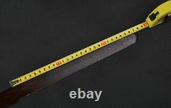 26'' Folded Steel Bare Red Blade Sharp Japanese Samurai Naked Katana Replacement