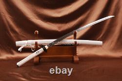 Battle Ready Japanese Samurai Full-tang Katana Folded 1095 Steel Sharp Sword