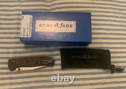 Benchmade 535-3 Bugout Manual Folding Knife Carbon Fiber Handle S90V Steel Blade