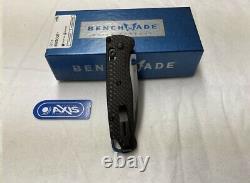 Benchmade Bugout 535-3 Carbon Fiber Handle S90V Satin Blade Folding Knife
