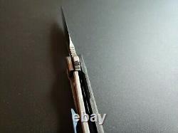 Bestech Engine Folding Knife 2.25 S35VN Blade Carbon Fiber Handle Used