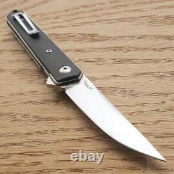 Boker Kwaiken CF Folding Knife 3.13 D2 Tool Steel Blade Carbon Fiber Handle