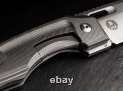 Boker Plus Warbird Frame Folding Knife 3.75 D2 Tool Steel Blade Aluminum Handle