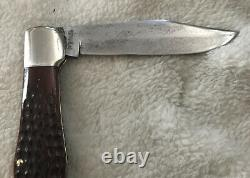 CASE XX Red Bone Folding Hunter Knife C61050SAB