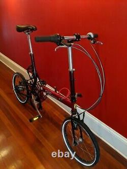 Carbon Belt Drive Bike Friday Tikit folding commuter bicycle size Medium