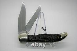 Case XX 1940-1964 Old Red Bone 6265-SAB Folding Hunter Knife With Sheath