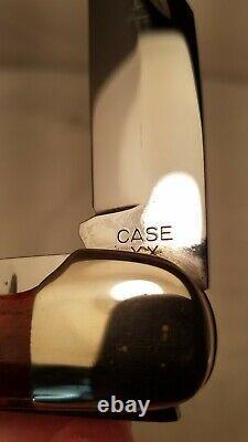 Case XX 6265 SAB Large Folding Hunter Knife Red Bone XX ERA 1940-1964 Near Mint