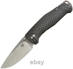 Fox TUR Linerlock Vox Folding Knife 3 Elmax Steel Blade Carbon Fiber Handle