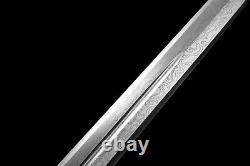 Handmade Spear Sword Folded Steel Sharpened