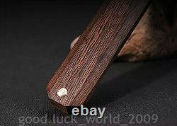 High Quality Chinese Short Sword Dagger Folded Pattern Steel Sharp Blade #6631