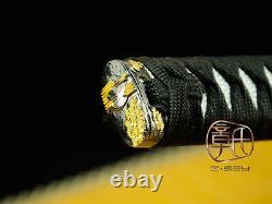 High Quality Japanese Ninja Sect Shrine Samurai Sword Katana Folded Steel #3709