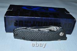 Kershaw Zero Tolerance 0562CF Folding Knife3.5 Blade, Carbon FiberTitanium HDLUS