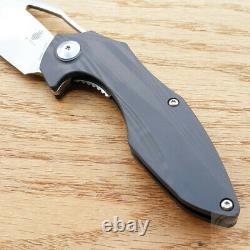 Kizer Minitherium Folding Knife 3 S35VN Steel Blade Carbon Fiber Handle 3502