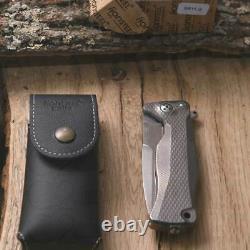 Lionsteel Sr 11 G Folding Knife Titanium Folding Knife Collector Camp Hunting