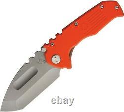 Medford MK30DTT11GG Praetorian Tumbled Tanto Folding Knife Pocket Folder