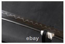 Modern Clay Tempered Hand Forged Folded Damascus Steel Samurai Katana Sword