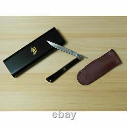 New Shun Higo Nokami Gentleman's Personal Folding Steak/Pocket Knife 5900 Japan