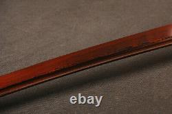 Real Sharp Japanese Sword Samurai Katana Folded Steel Bloody Red Blade Full Tang