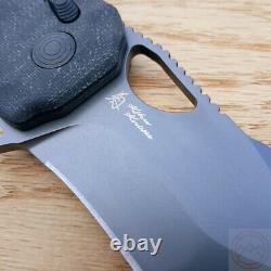 SOG Kiku XR LTE Folding Knife 3.3 CTS-XHP Steel Blade Micarta/Carbon Finber