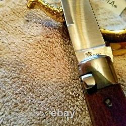 Schatt & Morgan Folding Knife Queen DFC Cutlery 4 1/2 Wharncliffe Blade Mint