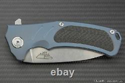 Stedemon Bastion Tactical Folding Knife S35VN Steel, Titanium & Carbon Fibre