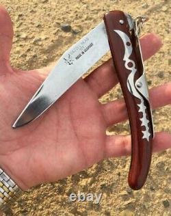 VINTAGE Original OKAPI Folding Pocket Knife Deer Head Made in Germany (RARE)