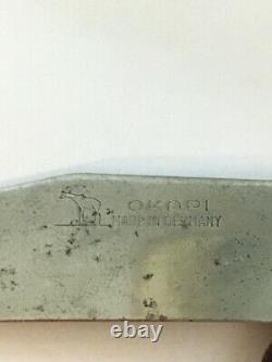 VINTAGE Original OKAPI Folding Pocket Knife Made in Germany (RARE)