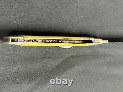 Vintage KA-BAR 1-Blade 1106 Swell Center Folding Hunter Pocket Knife c. 1925-1930