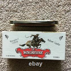 WINCHESTER. 270 Cartridge Series Hunter Trapper Folding Knife #W18-29105 (NIB)