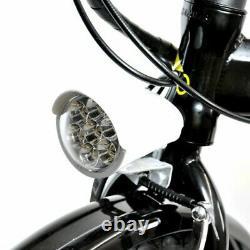 Z2 COMPACT FOLDING ELECTRIC BIKE 20 ONYX BLACK 250W Brushless Motor
