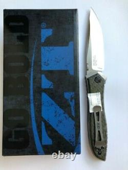 ZT Zero Tolerance Emerson 0640 Folding Knife 20CV Blade Carbon Fiber Frame Lock