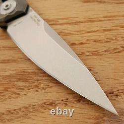 Zero Tolerance Folding Knife 3.5 20CV Steel Blade Carbon Fiber/ Titanium Handle