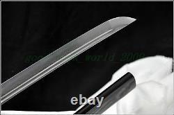 100% Forge À Main Japonais Sword Samourai Katana Pliant Motif Lame D'acier Pointu
