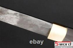 1095 Carbon Steel Folded 15 Times Clay Tempered Bare Blade For Jp Samurai Katana 1095 Carbon Steel Folded 15 Times Clay Tempered Bare Blade For Jp Samurai Katana 1095 Carbon Steel Folded 15 Times Clay Tempered Bare Blade For Jp Samurai Katana 1