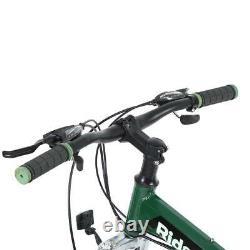 21 Speed 26 Inch Full Suspension Folding Mountain Bike Bicycle Green Vtt Bikes