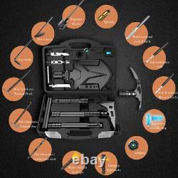 Acier À Haute Teneur En Carbone Tactical Pliage Shovel Survival Tool Multipurpose Camping Axe