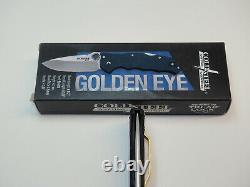 Acier Froid Golden Eye Elite Carbon Fibre 3.5 Couteau Pliant 62qcfs
