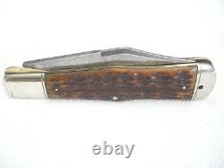 Antique 1906 Cattaraugus 12829 Cutlery Folding Pocket Knife King Of The Woods