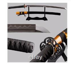 Argile Moderne Trempé Main Forgée En Acier De Damas Samurai Katana Sword