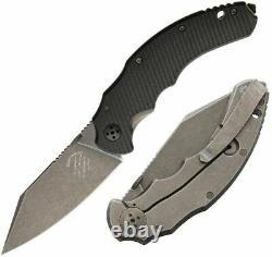 Bastinelli Créations Dragotac Couteau Pliant 3.63 D2 Outil Lame D'acier G10 Poignée