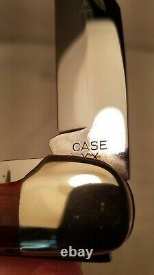 Boîtier XX 6265 Sab Large Folding Hunter Knife Red Bone XX Era 1940-1964 Near Mint