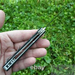 Boker Kwaiken Mini Couteau Pliant 3 Satin Finish D2 Outil Steel Blade G10 Handle
