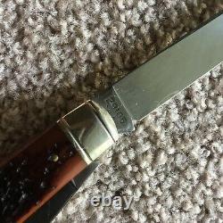 C'est Bien. 270 Couteau Pliant De La Série De Cartouches Hunter Trapper #w18-29105 (nib)