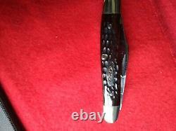 Cas USA 6347 HP Stockman Pocket Pliant Couteau De Poche Red Bone Vintage 1977