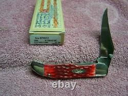Case XX Kickstart MID Pliing Couteau De Chasseur Red Bone CV Couteaux 07003 Avec Clip