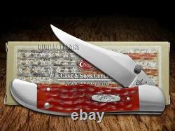 Case XX Kickstart MID Pliing Hunter Knife Red Bone CV Couteaux De Poche 07003