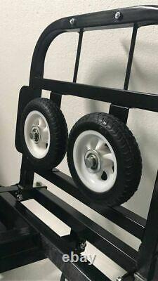 Chariot Pliant D'escalade D'escalier Portable Montage À Main Mouvement Camion En Acier Au Carbone Univer