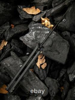 Couteau Co Angst Couteau Pliant 3 Cpm S35vn Steel Blade Carbon Fiber/g10 Handle